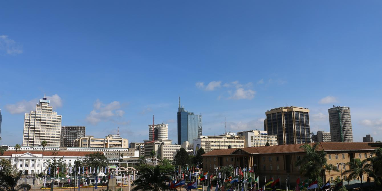 View of Nairobi Central Business District. Photo Credit: Kevin Wabungo